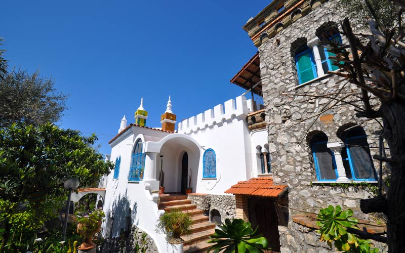 Villa eva budget hotel in anacapri capri italy for Villas in capri