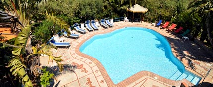 Hotel with pool in Capri - Villa Eva
